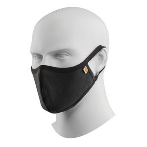 Carhartt Black Face Mask with Logo